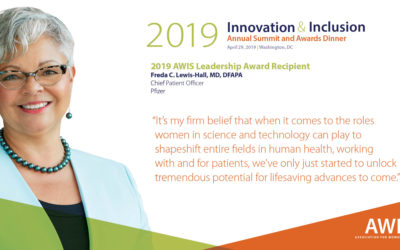 Dr. Freda C. Lewis-Hall to be Honored with Leadership Award at AWIS Innovation and Inclusion Summit