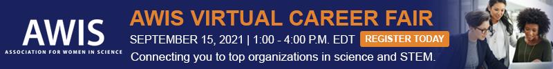 AWIS Virtual Career Fair Sept. 15