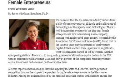 Life Science Leader | Beyond Capital and Mentoring: Paving the Way for Female Entrepreneurs