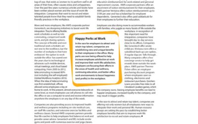 Work-Life Integration Practices in Today's Companies
