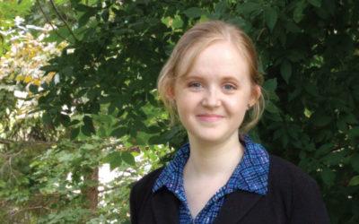 Alexandra Detweiler is the 2019 recipient of AWIS Kirsten R. Lorentzen Award
