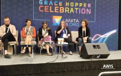 AWIS Panel at Grace Hopper Celebration 2018: Leading Intentional Cultural Change